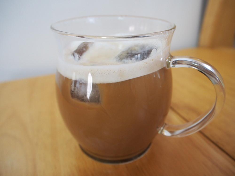 ブライトで作るカフェラテ