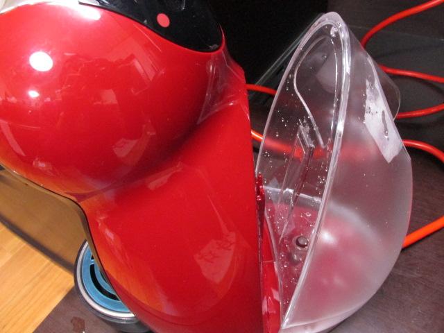 ドルチェグストの給水タンク