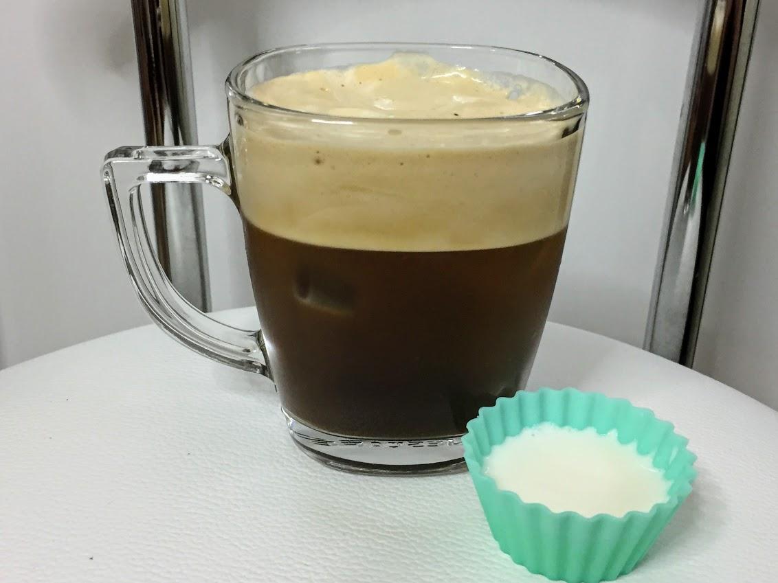 コク深めで作るコーヒーソーダの完成