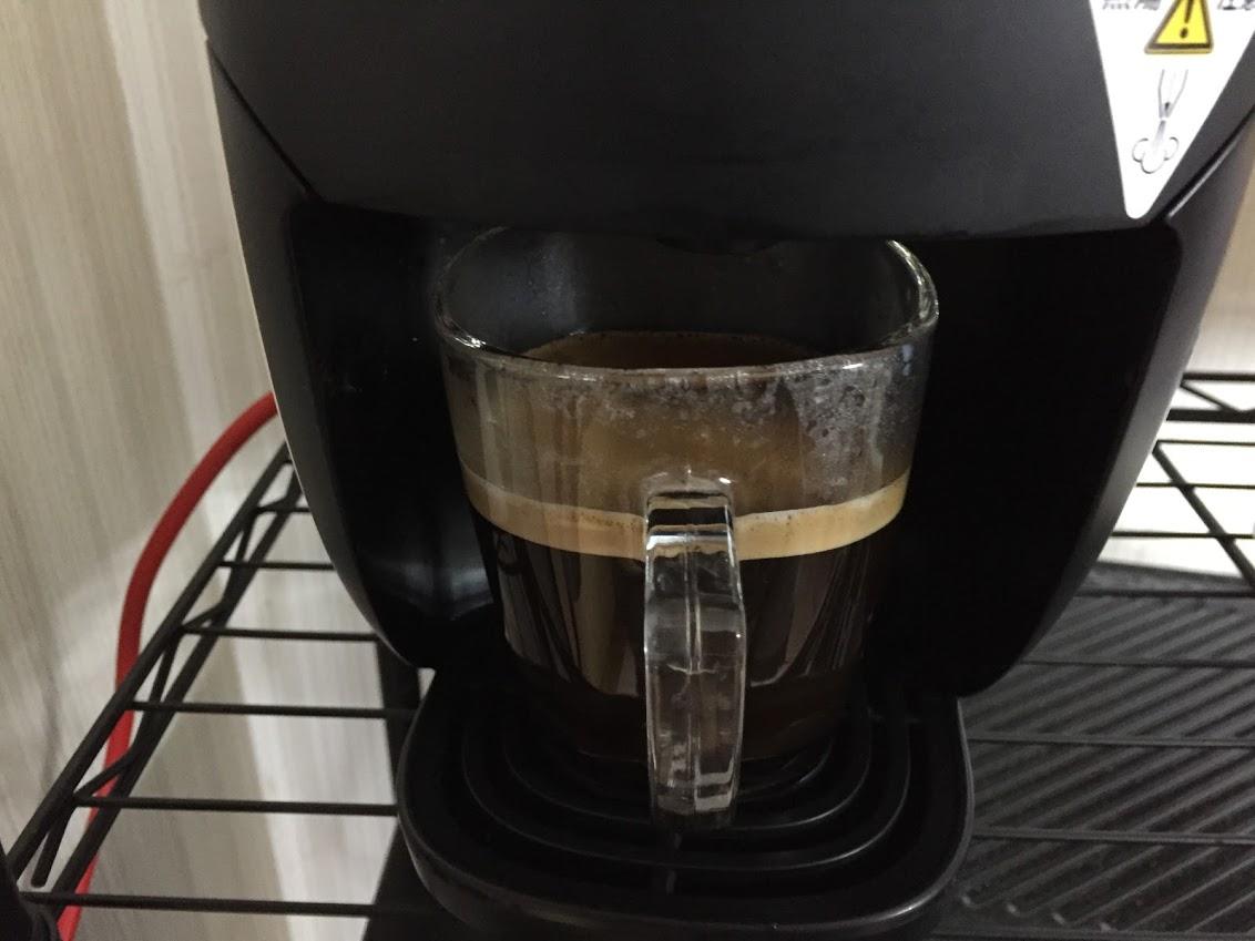 コーヒーを抽出