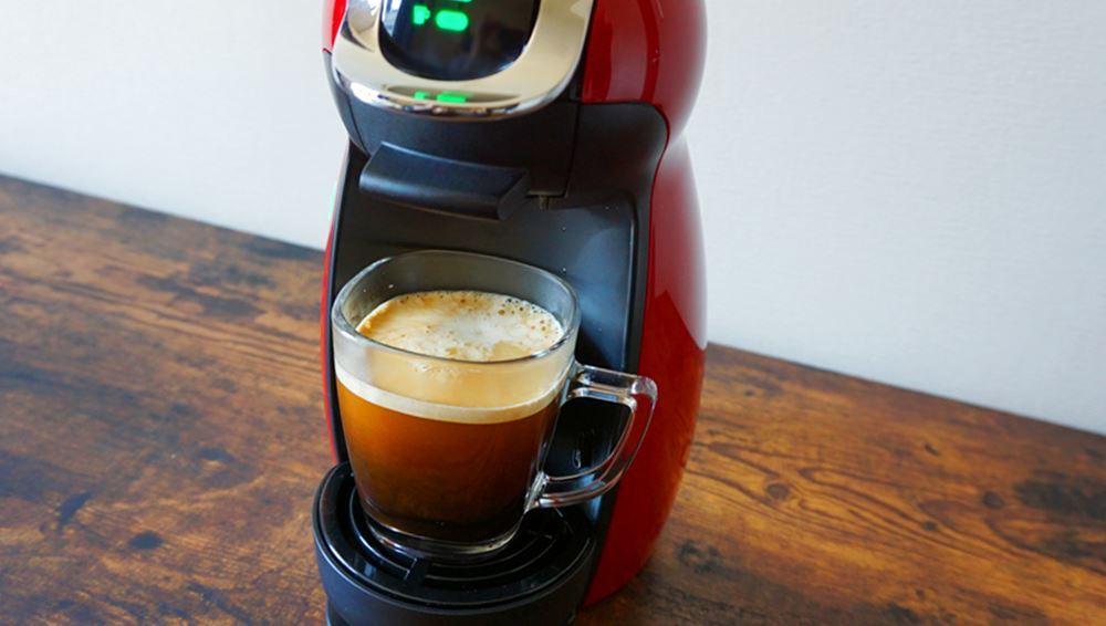 ドルチェグストでいれたコーヒー