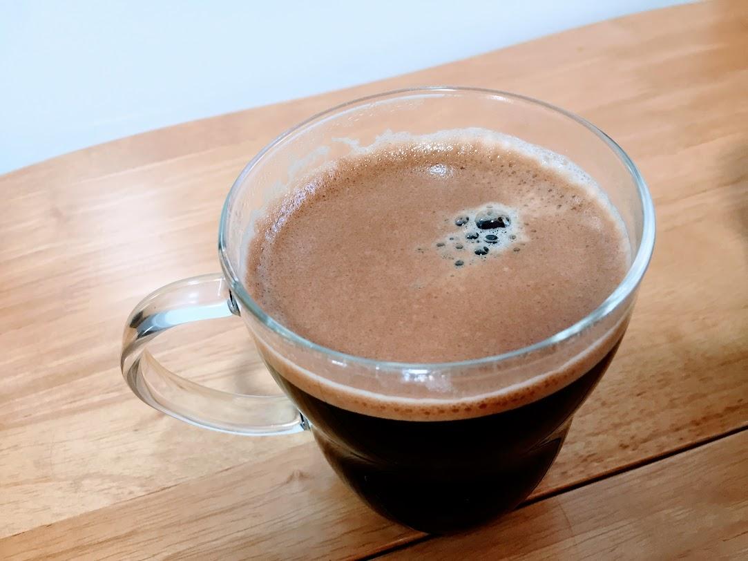 ネスカフェボールドブレンドのコーヒー