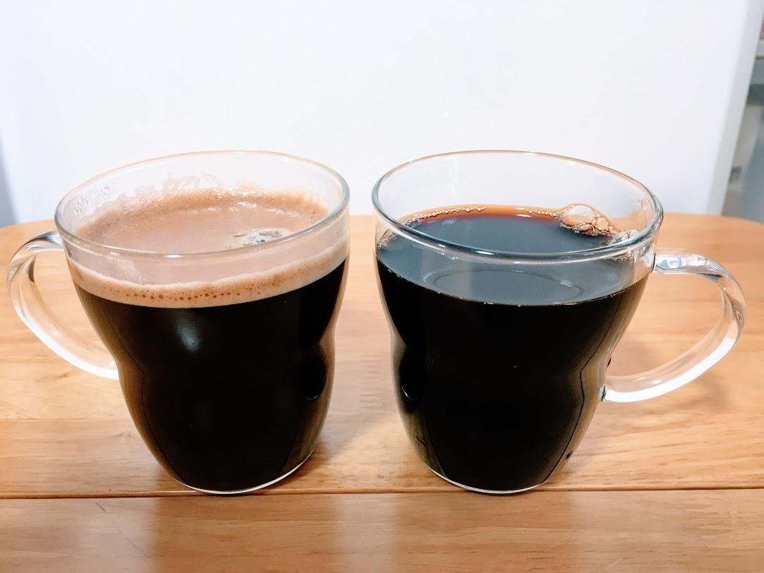 ゴールドブレンドのコーヒー