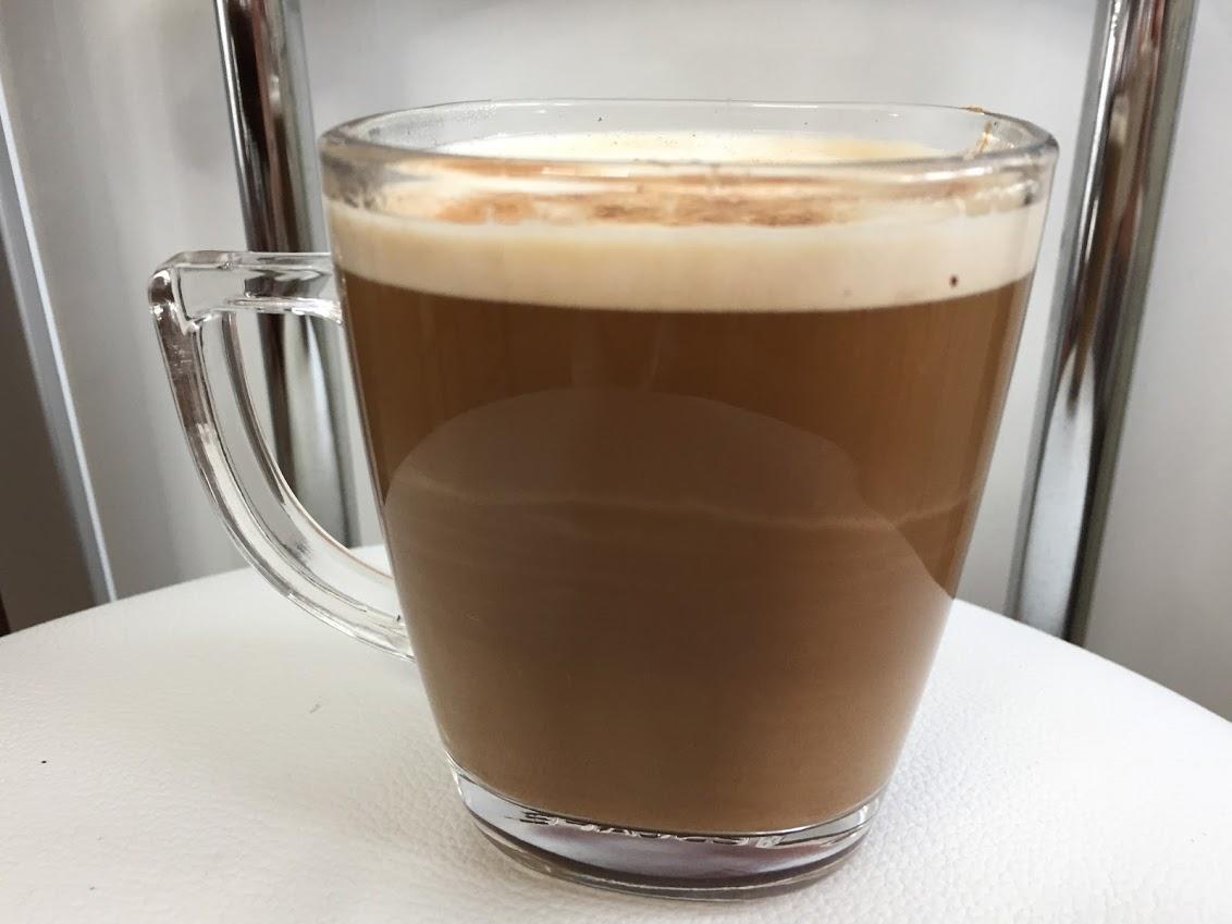 プレジデントで作ったカフェラテ