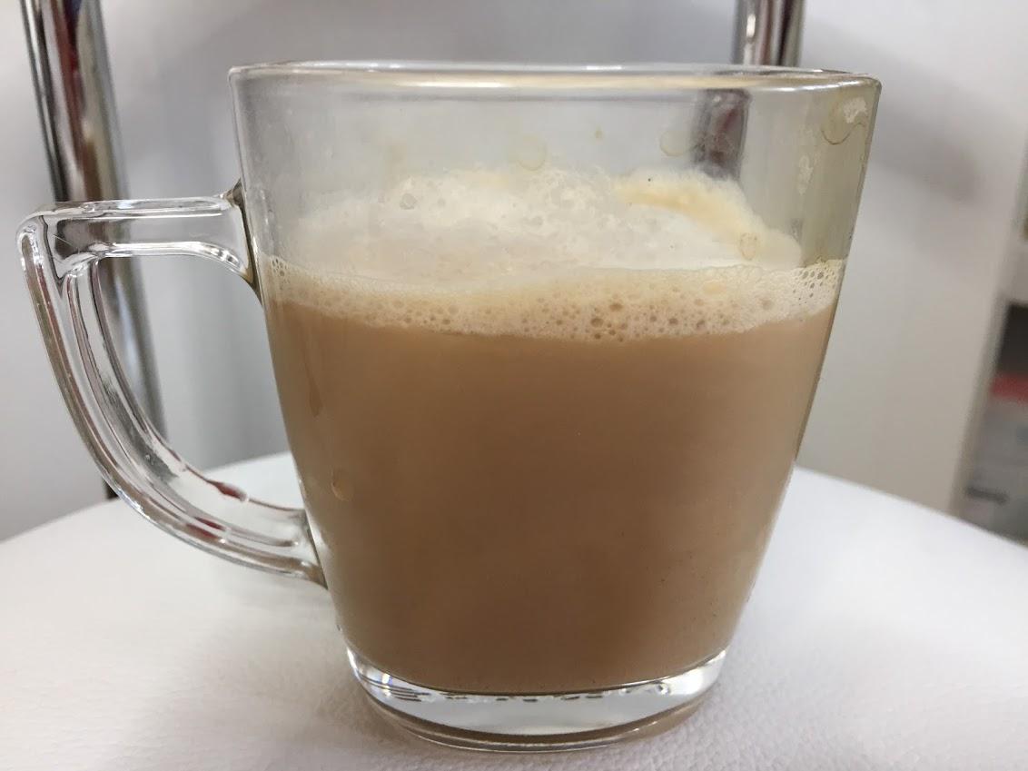 コーヒーとチョコレートのなめらかスムージー
