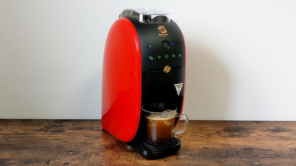 ネスカフェバリスタで作ったアイスコーヒー
