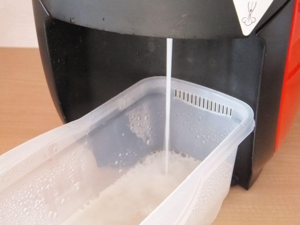 湯垢洗浄中