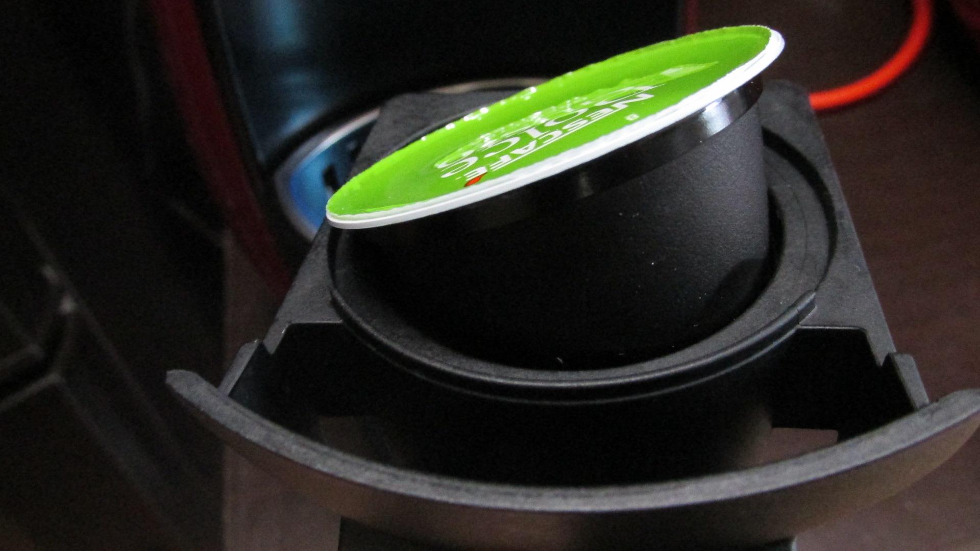 宇治抹茶カプセルをセット