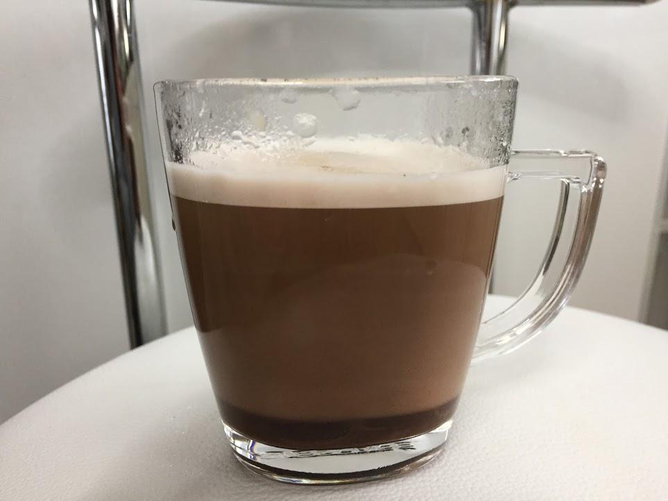 牛乳で作るハニーショコラテ