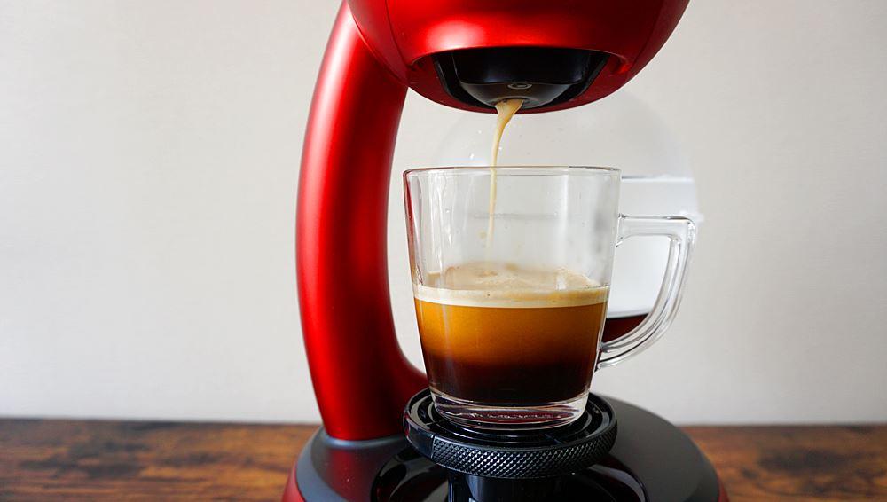 ドルチェグストエスペルタでコーヒー抽出